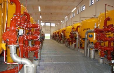 Stacje uzdatniania wody i ujęcia wody: